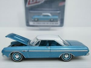 GREENLIGHT, 1964 PLYMOUTH SPORT FURY 426 MAX WEDGE, 1:64 Scale, GL MUSCLE CAR