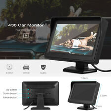 """430 4.3"""" TFT Screen High Definition Car Rear View Monitor with Video Cable"""