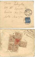 POLAND 1920's 3 COVERS AND 1 CARD VARIOUS TOWNS