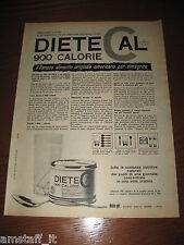 *293=DIETE CAL DIETETICO=ANNI '60=PUBBLICITA'=ADVERTISING=WERBUNG=PUBLICITE=