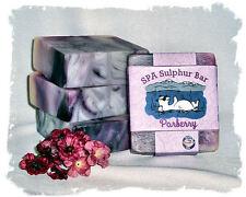 Black Raspberry Vanilla _Parberry_ SPA Sulphur Mineral Soap Made in Montana