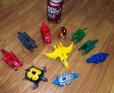 Power Rangers Dino Charge HUGE LOT 9 ZORDS SCG P.R.  ALL DIFFERENT RARE As Is