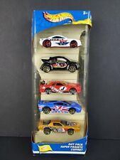 RARE 2002 Hot Wheels Flag Flyers 5 Car Gift Pack JDM NISSAN SKYLINE Camaro - NEW