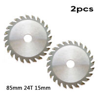 24Teeth Bore Circular Saw Blade Disc For WORX WX423 Rockwell RK3440K Newest