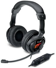 Genius Hs-g500v Gaming Headset With Vibration Function 31710020101