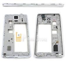 Original Samsung Galaxy Note 4 N910F Mittelrahmen Gehäuse Frame RAHMEN Weiß