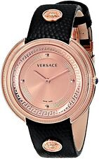 Versace Women's VA7040013 Thea Round Stainless Steel Rose Gold IP Dial Watch