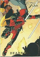 2015 MARVEL FLEER RETRO FLAIR POWER  BLAST DEADPOOL 5 OF 18