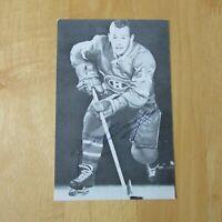 YVAN COURNOYER 1965  Montreal Canadiens B&W  team issue postcard  1966  65-66