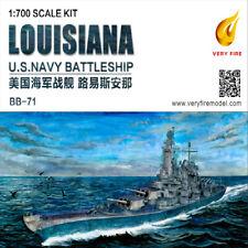 Very Fire 1/700 VF700902 U.S Navy Battleship BB-71 Louisiana