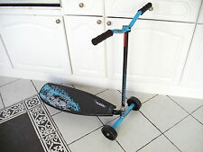 New boxed Pulse Slither 3 wheel Drift Scooter Blu/Blk Grn/Wht Bargain 2 4 £45del