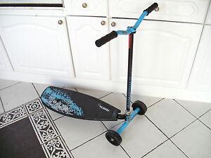 New Pulse Slither 3 wheel Drift Scooter Blu/Blk Grn/Wht Bargain 2 4 £50del