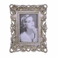 9934065-ds Silver Colored Picture Frame Art Nouveau New 25x20cm