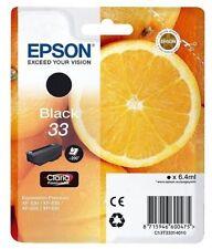 Epson 33 T3331 Black Ink Cartridge Oranges XP-530 XP-630 XP-635 XP-830 EP60047