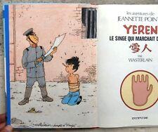 Wasterlain dédicace Hommage Hergé Tintin Lotus Bleu Jeannette Pointu 4 EO Neuf