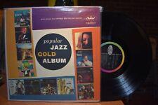Capitol Popular Jazz Gold Album LP T1034 Mono