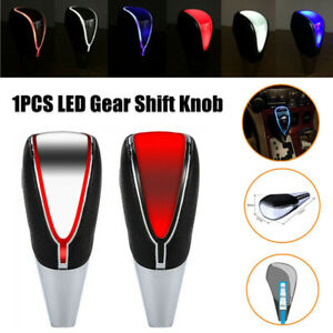 Auto Car Gear Shift Knob Head LED Light Touch Activated Sensor USB Charging