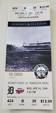 The Corner 1999 Tiger Stadium Final Season Full Ticket Stub