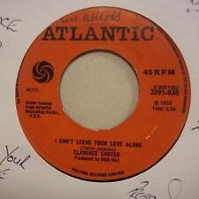 """Clarence Carter (7"""" Vinilo 1st edición) Parches/no puedo dejar su amor Solo-EX/en muy buena condición"""