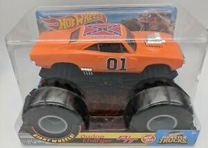 Hot Wheels Dukes of Hazzard General Lee 1970 Dodge Charger RT Monster Truck 1:24