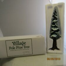 "Department 56 Village 10.5""  ""Pole Pine Tree"" #5529-8  1B"