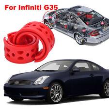 For Infiniti G35 Shock Absorber Spring Bumper Power Cushion Buffer 2pcs Front
