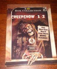 2 DVD CREEPSHOW 1 E 2 BOX COLLECTION