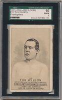 1887 TUG WILSON N269 Lorillards Mechanics Delight Boxing Card