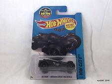 Hotwheels batman arkham knight batmobile 61/250 hw city made in malaysia