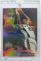 1997 97-98 Flair Showcase Row 2 Tim Duncan #5, Rookie RC! Spurs! Sharp!