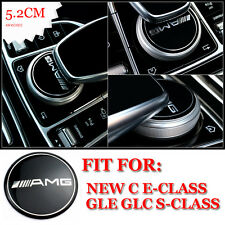 AMG Multimedia Control Badge Emblem Decals For New E C Class GLC Fits All S218
