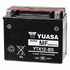 BATTERIA YUASA YTX12-BS 12 V 10 AH PIAGGIO BEVERLY LIBERTY MP3 X EVO 125