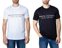 Armani Exchange T-shirt uomo milano / new york 8nzt72 zjh4z
