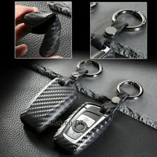 Carbon Fiber Type TPU Soft Smart Key Fob Cover For BMW 1 3 4 5 6 7 X1 X3 Series