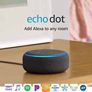 Echo Dot (3rd Gen) - Smart speaker with Alexa - Charcoal ec
