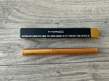 MAC M.A.C SUPERSLICK LIQUID EYE LINER eyeliner - PURE SHOW Slightly damage box