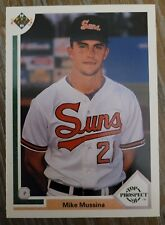 1991 Upper Deck MIKE MUSSINA Baltimore Orioles #65 Top Prospect Rookie Card m/nm