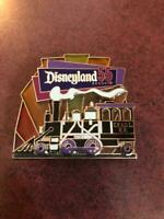 Disneyland 55 Resort S.F.& D.L. R.R. Pin Rare-Limited Edition of 750 Stain Glass