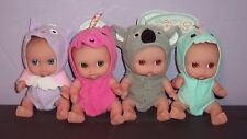 BRAND NEW 4 Berenguer My Sweet Love Babies CUTESIES Koala Unicorn Owl Dinosaur