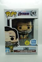 Funko Pop! Marvel: Avengers Endgame - Loki with Glow-in-The-Dark Tesseract LE