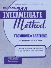 Rubank Intermediate Method - Trombone or Baritone - Brass Music Book