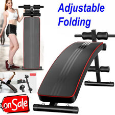Adjustable Decline Sit up Bench Crunch Board Durable Fitness Home Gym Exercise