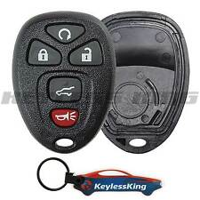 Replacement Remote Start Key Fob Shell Pad Case 5b for 2007-2016 GMC Acadia