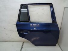 BMW X3 2004-2006 REAR RIGHT SIDE EXTERIOR DOOR SHELL BLUE OEM DK909363