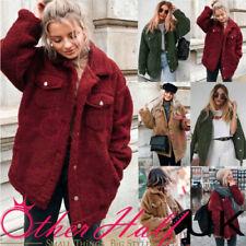 22eb3baa6945 Faux Fur Fleece Jackets for Women for sale | eBay
