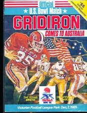 1985 Australia Bowl Football Program UTEP vs Wyoming