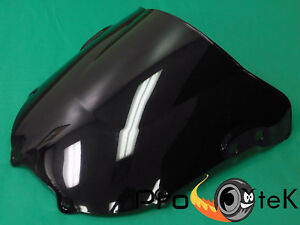 Yitong Motorcycle Double bubble Clear Windshield For 2000 2001 Honda Fireblade CBR 900 929 RR Windscreen