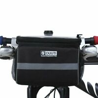 Bicycle Handlebar Bag Cycling Bike Front Tube Pannier Basket Storage Outdoor