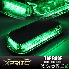 Green 44 LED Vehicle Roof Top Emergency Hazard Flash Warning Strobe Light 44W