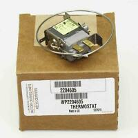 New OEM Whirlpool Refrigerator Temperature Control Thermostat 2204605